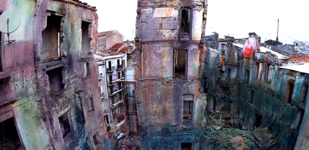 """Centro Storico """"Ruderi alla Vucciria"""" Palermo,12-Febbraio 2014.MIKE PALAZZOTTO"""